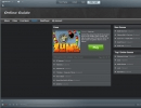 The Games section in the RealPlayer Web-Service