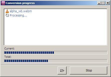 Conversion in Progress