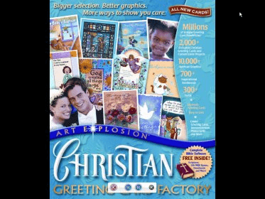 Christian greeting card factory 10 download free chgrcardexe main window m4hsunfo