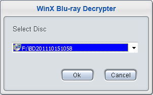 Selecting the Blu-Ray Disc