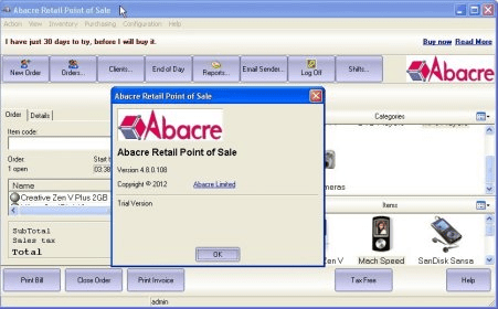 Download restaurant point of sale system software: abacre cloud.