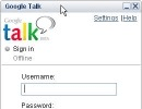 Log-in Window