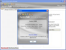 Factorytalk Activation Manager