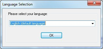 Language Selection