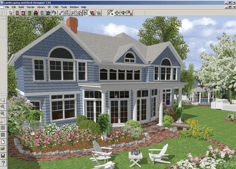 Better Homes And Gardens Landscaping And Deck Designer Software Informer Screenshots
