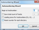 Autonumbering Wizard