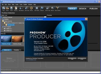 Proshow producer 50 download free trial proshowexe main window proshow wizard pronofoot35fo Choice Image