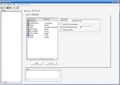 how to create vmdk file