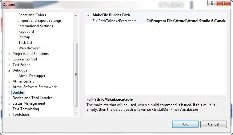 Builder Options