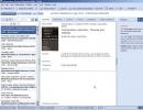 Main window- References tab