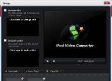 Video Merger
