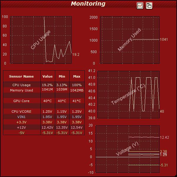 Monitoring Window