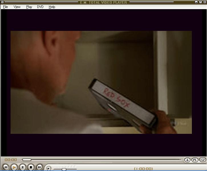 DVD Playing