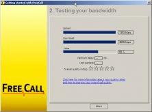 Bandwidth test