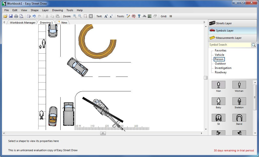 Easy street draw software informer screenshots Easy drawing software