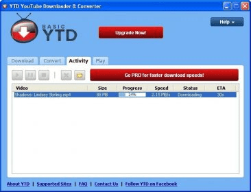 Ytd youtube downloader converter 39 download free trial downloading a video ccuart Choice Image