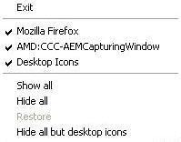 Taskbar Window