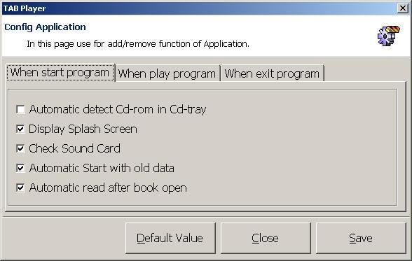 Configuration Settings