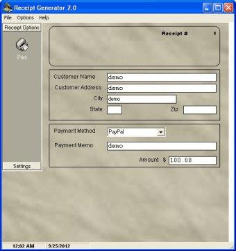 Receipt Generator - Software Informer. Receipt Generator helps you ...