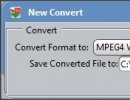 New Conversion Window