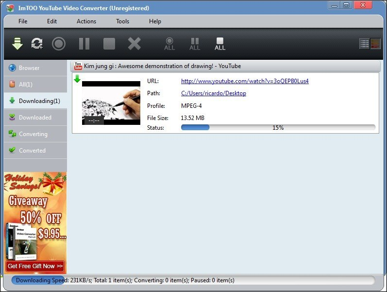 Download in Progress