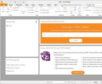 foxit pdf reader security certificate error