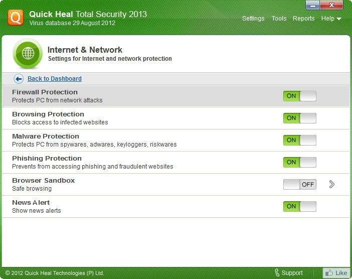 Internet & Network Settings