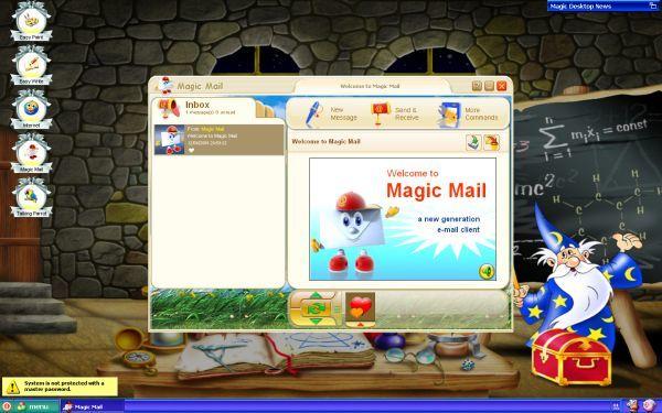 EasyBits Magic Desktop 2.0 : Magic Mail.