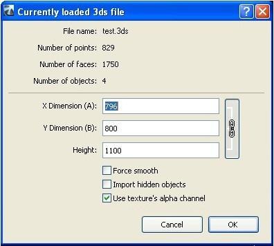 Load file window