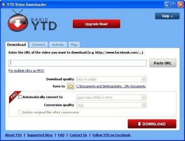 Ytd video downloader 39 download free main window ccuart Choice Image
