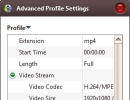 Advanced Profile Settings
