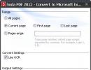 Converting PDF File