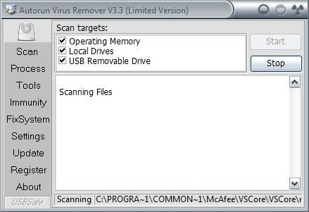 Scanning Disks