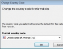 Country Code Changing