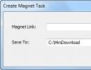 Create Magnet Task
