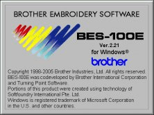 brother embroidery software informer with bes enjoy a 3 in 1 solution with the addition of appliqu creation