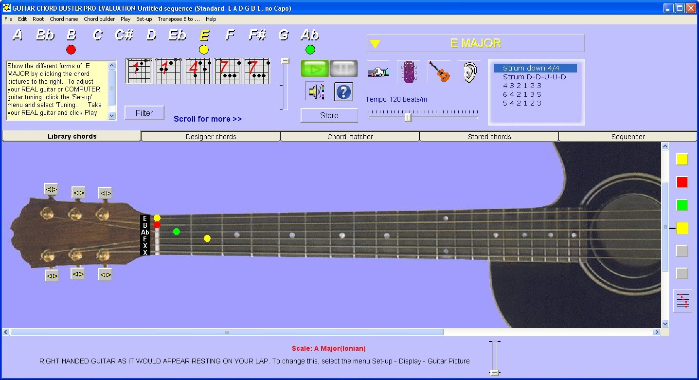Guitar Chord Buster Pro 43 Download Free Trial Gcb44exe