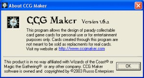 CCG Maker - Software Informer. CCG maker is a program with which ...