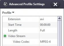 Advanced Profile Settings