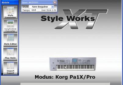 Программа style works xt universal