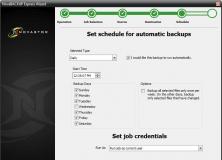 Backup Job Scheduling Options