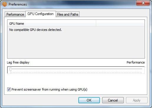 GPU Configuration