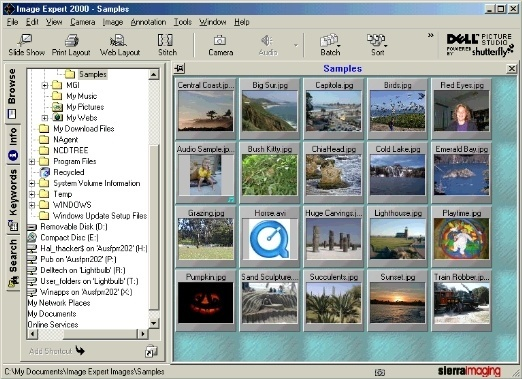 Image Expert 2000 Image Browsing Application