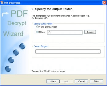 how to decrypt pdf without password
