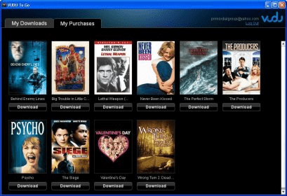 Where does vudu to go save downloaded movies / No way out