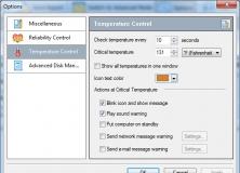 Temperature Control Options