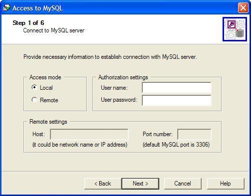 Access Conversion Window