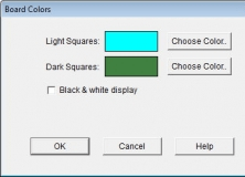 Board Colors Settings