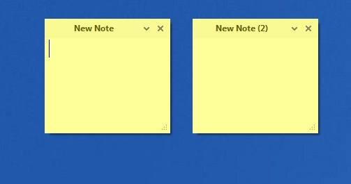 Notes Window
