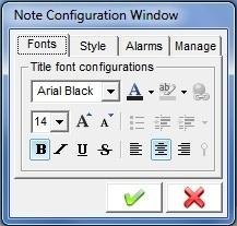 Fonts Configuration